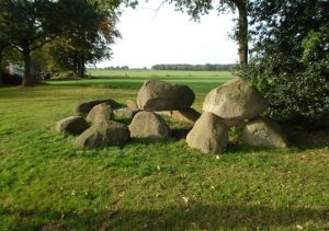 Hunebed bij Westervelde
